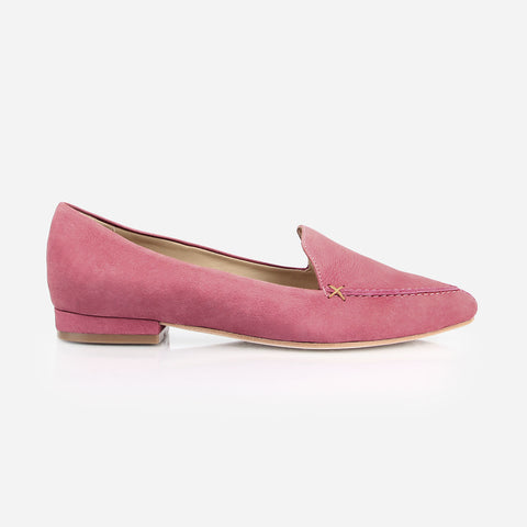 The Classic Loafer Cherry Blossom Nubuck Made To Order