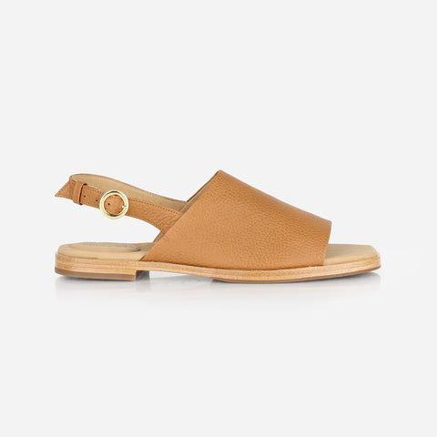 The Commuter Sandal Caramel Pebble Ready To Wear