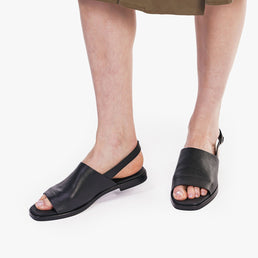The Commuter Sandal Black Pebble Ready To Wear