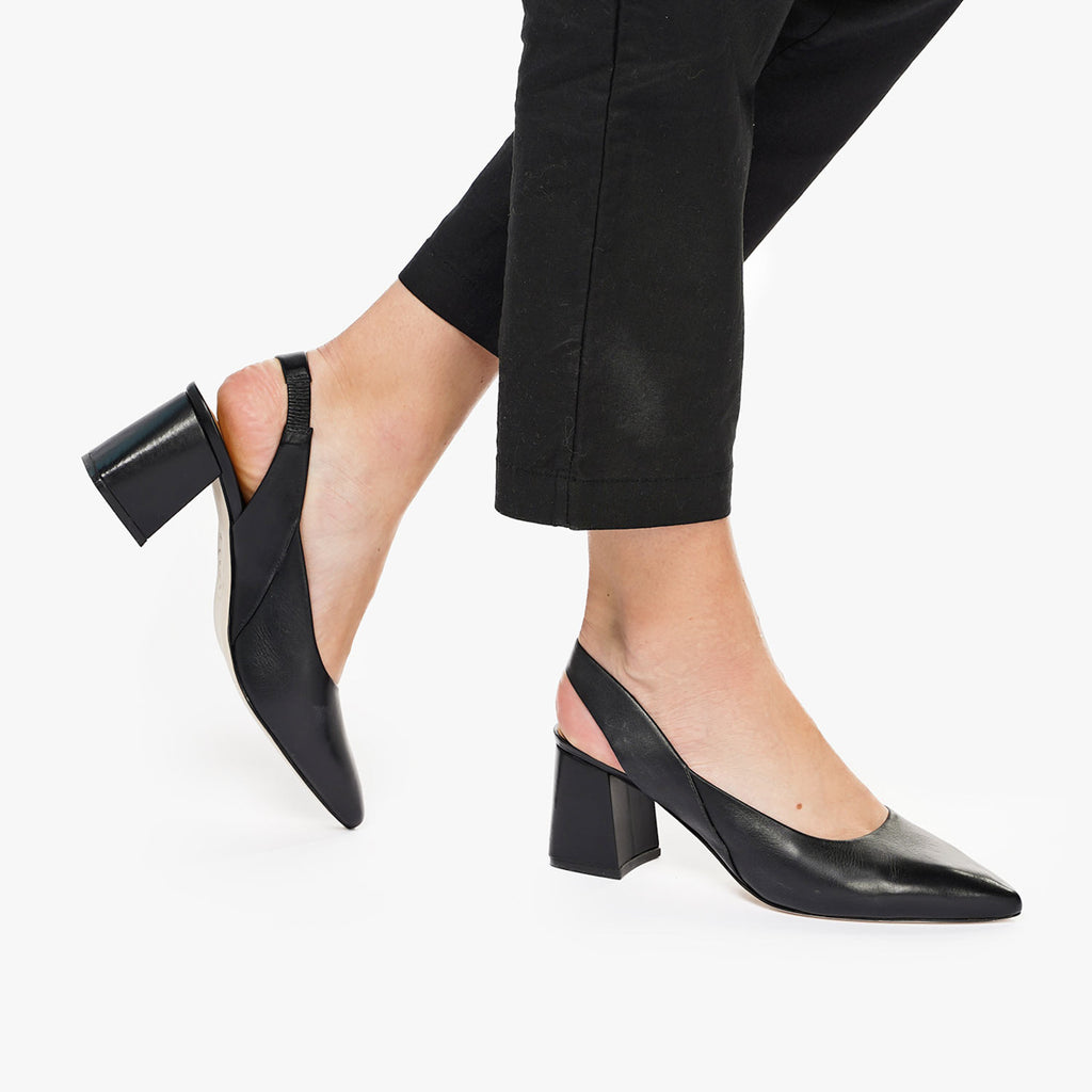 The Statement Slingback Black Ready To Wear
