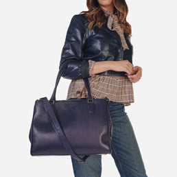The Co-Worker Tote Navy