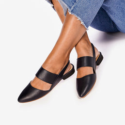 The Slingback Mary Jane Black Ready To Wear