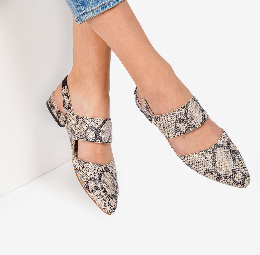 The Slingback Mary Jane Snake Ready To Wear