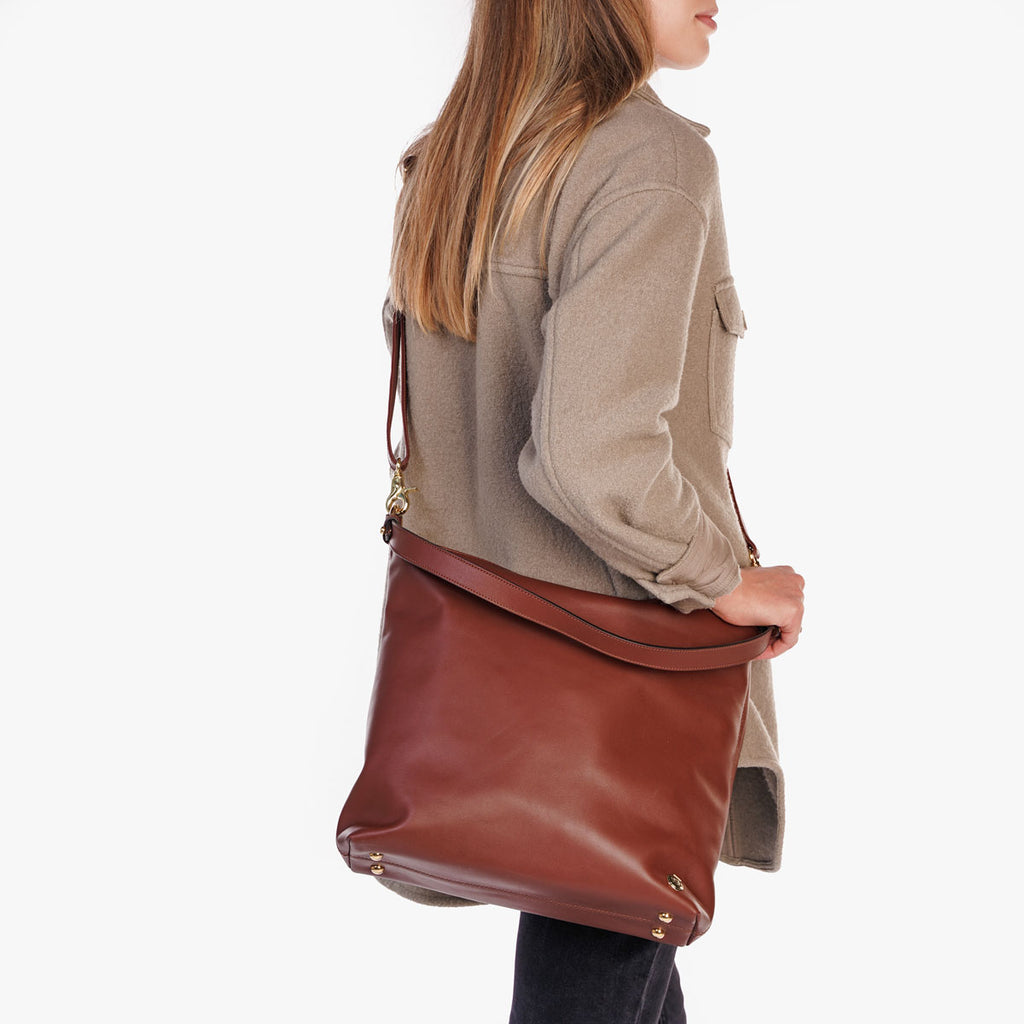 The Weekend Tote Danish Brown Water Resistant