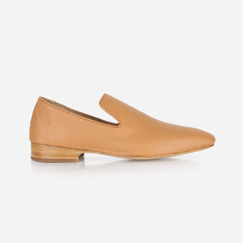 The Daily Loafer Caramel Pebble Ready To Wear