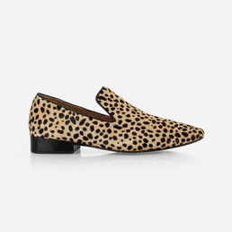 The Daily Loafer Cheetah Calf Hair Ready To Wear
