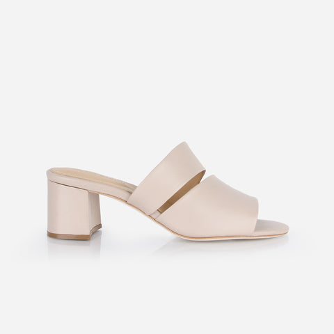 The Duet Heeled Sandal Petal