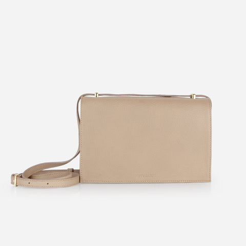 The Envelope Purse Biscotti Pebble