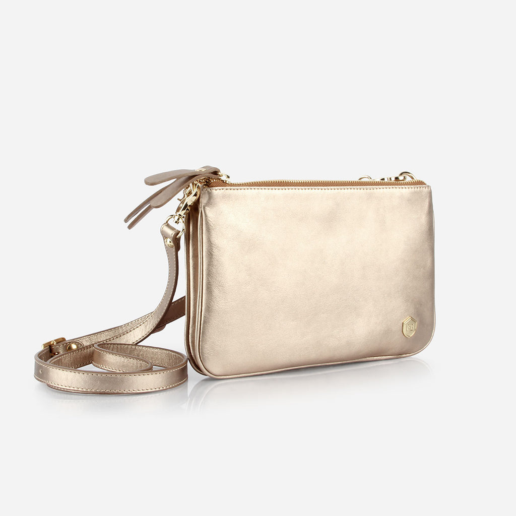 The Essentials Purse Gold Sand - Poppy Barley