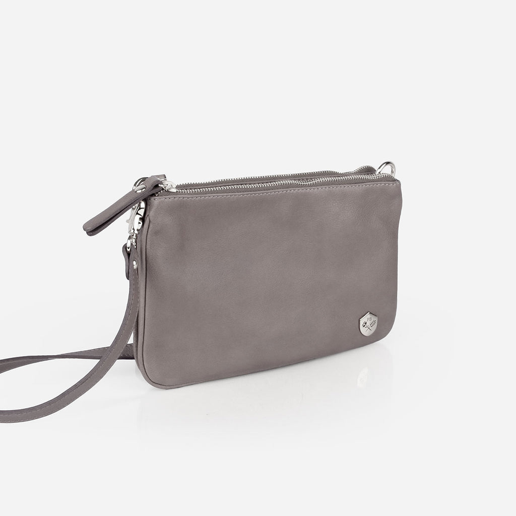 The Essentials Purse Slate Grey Pebble