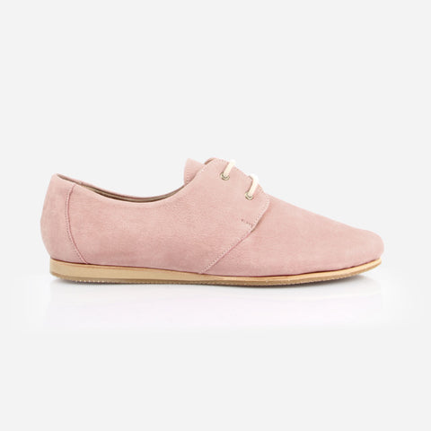 The Eyelet Oxford- Poppy Barley