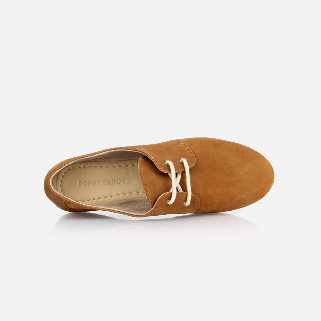 The Eyelet Oxford 2.0 Desert Tan Nubuck Ready To Wear