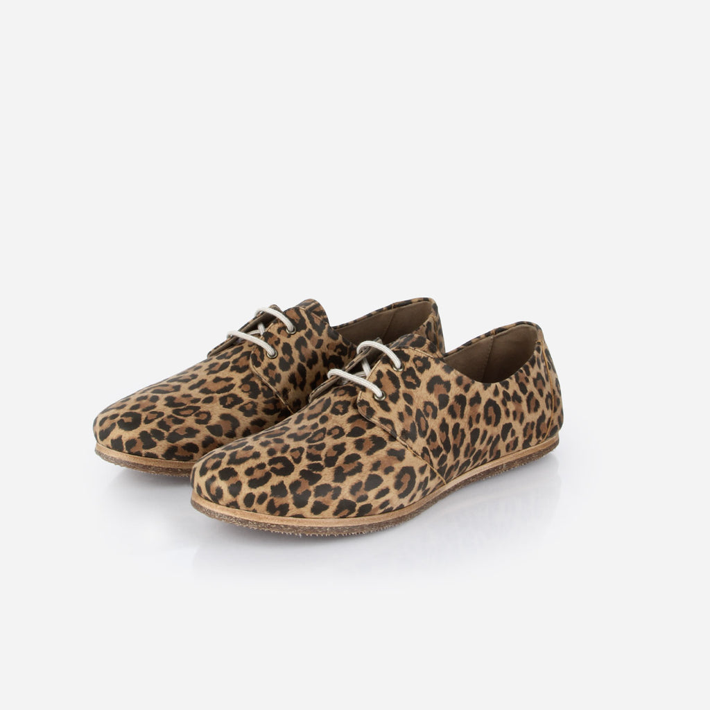 The Eyelet Oxford 2.0 Leopard Nubuck Ready to Wear