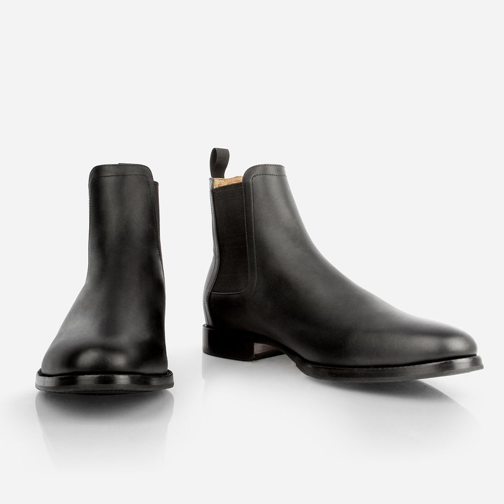 The Halifax Chelsea Boot Black Water Resistant Ready To Wear