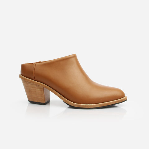 The Heeled Mule Almond Made To Order