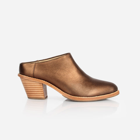 The Heeled Mule Bronze Made To Order