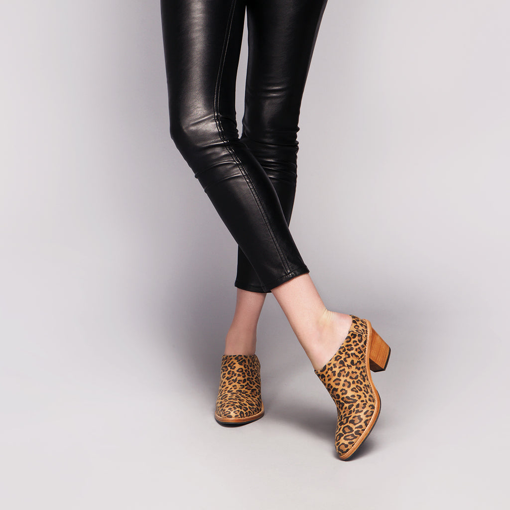 The Heeled Mule Leopard Ready To Wear