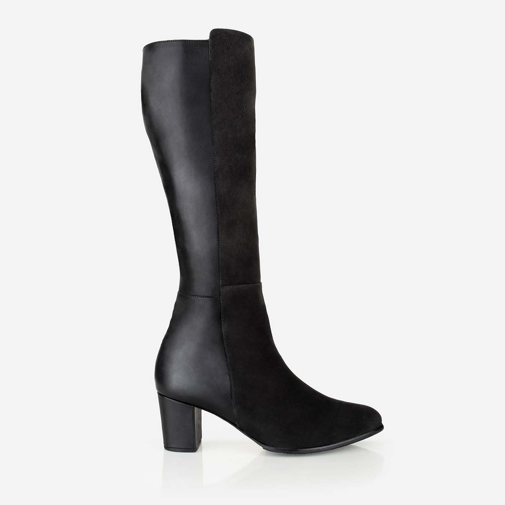 The High-Level Boot Black Made To Order