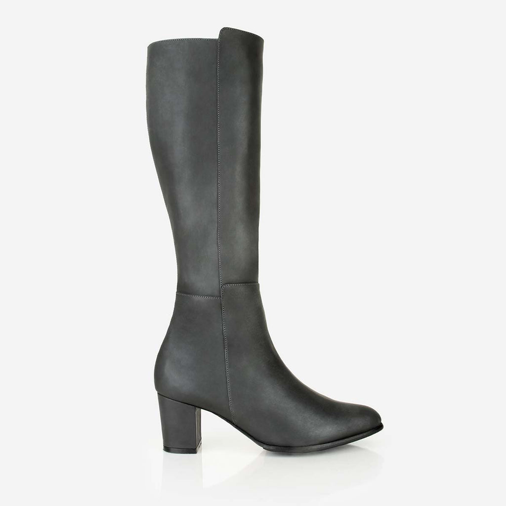 The High-Level Boot Gotham Grey Made To Order