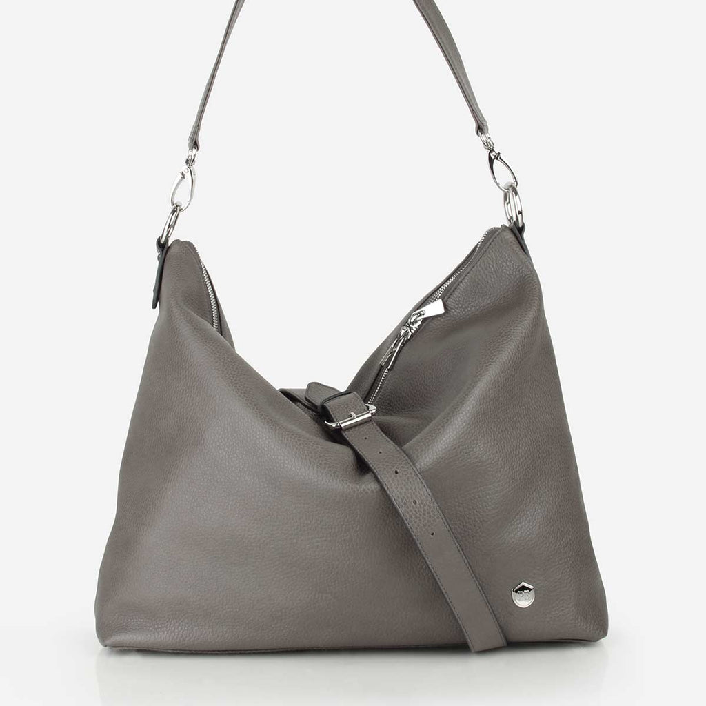 The All-In Tote Smoke Grey Pebble
