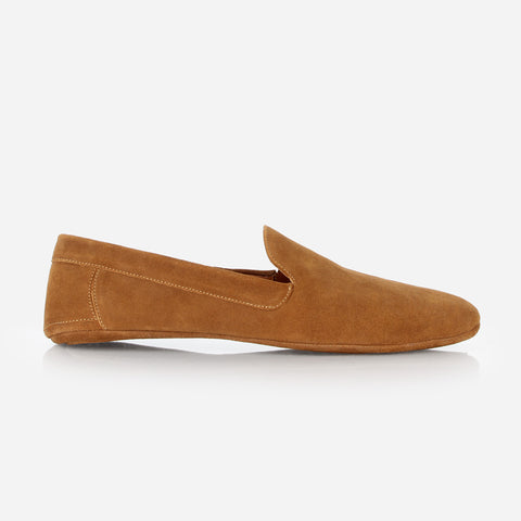 The Men's House Shoe Glazed Ginger Suede Ready To Wear