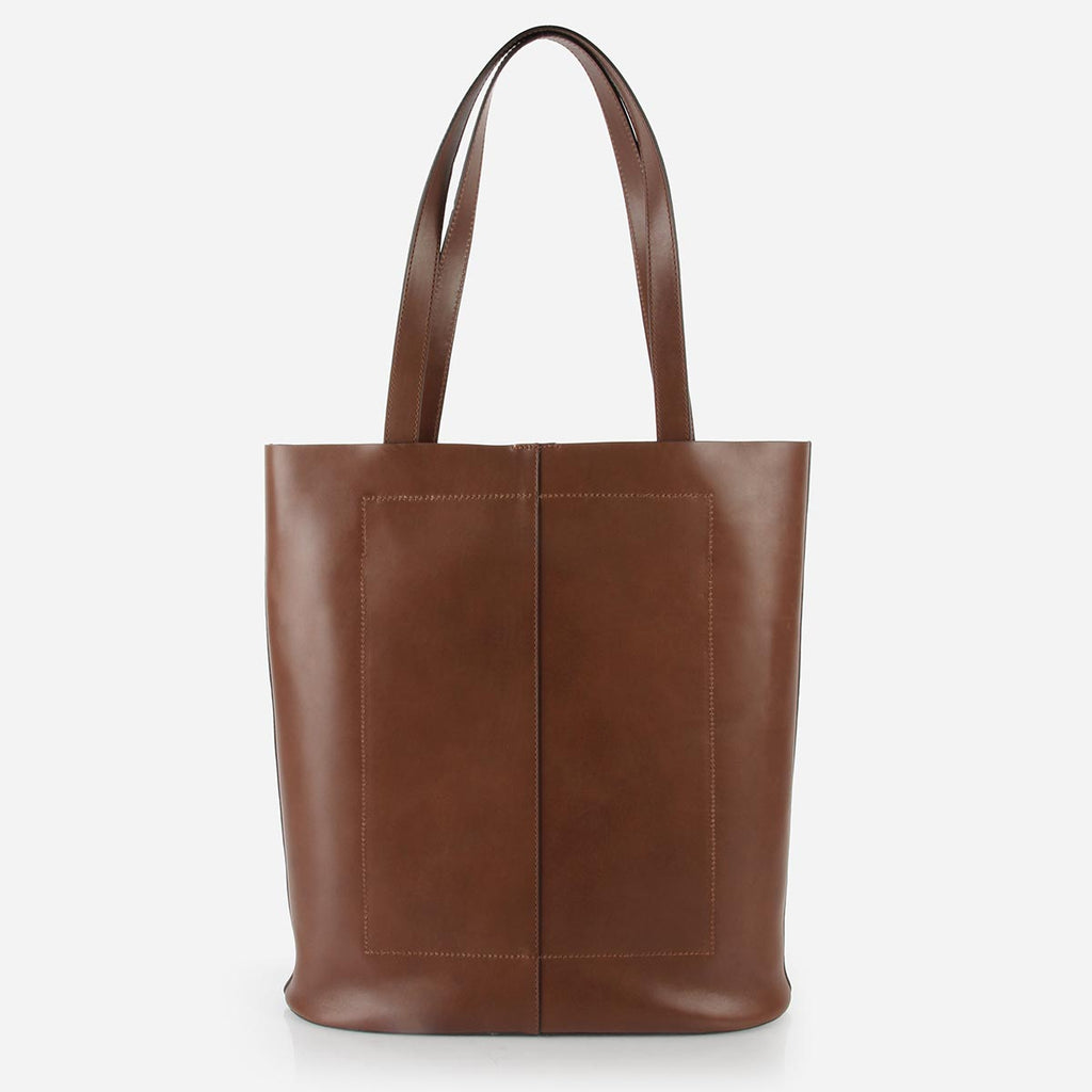 The Knot Tote Belgian Brown
