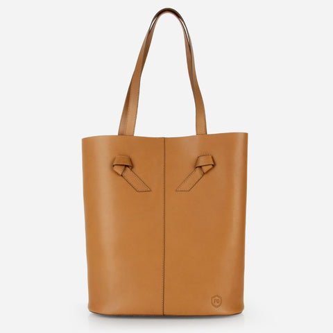 The Knot Tote Caramel