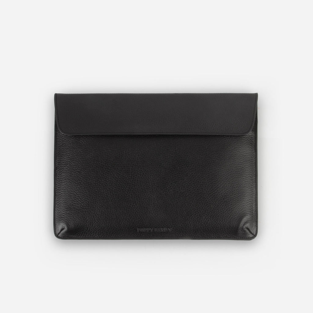 The Laptop Sleeve Black Pebble