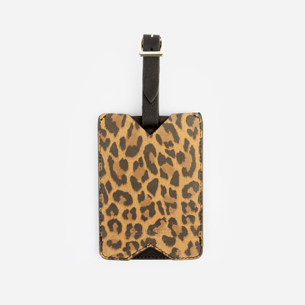 The Luggage Tag Leopard
