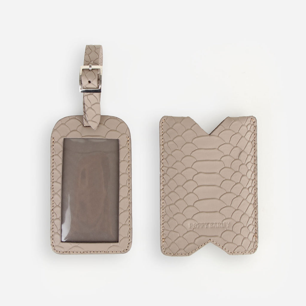 The Luggage Tag Stone Python