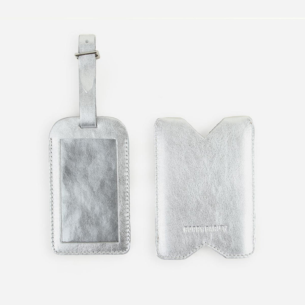 The Luggage Tag Silver