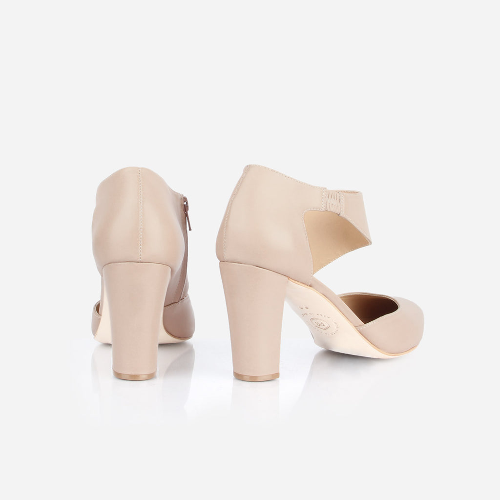 The Meghan Cutout Heel Petal Ready To Wear