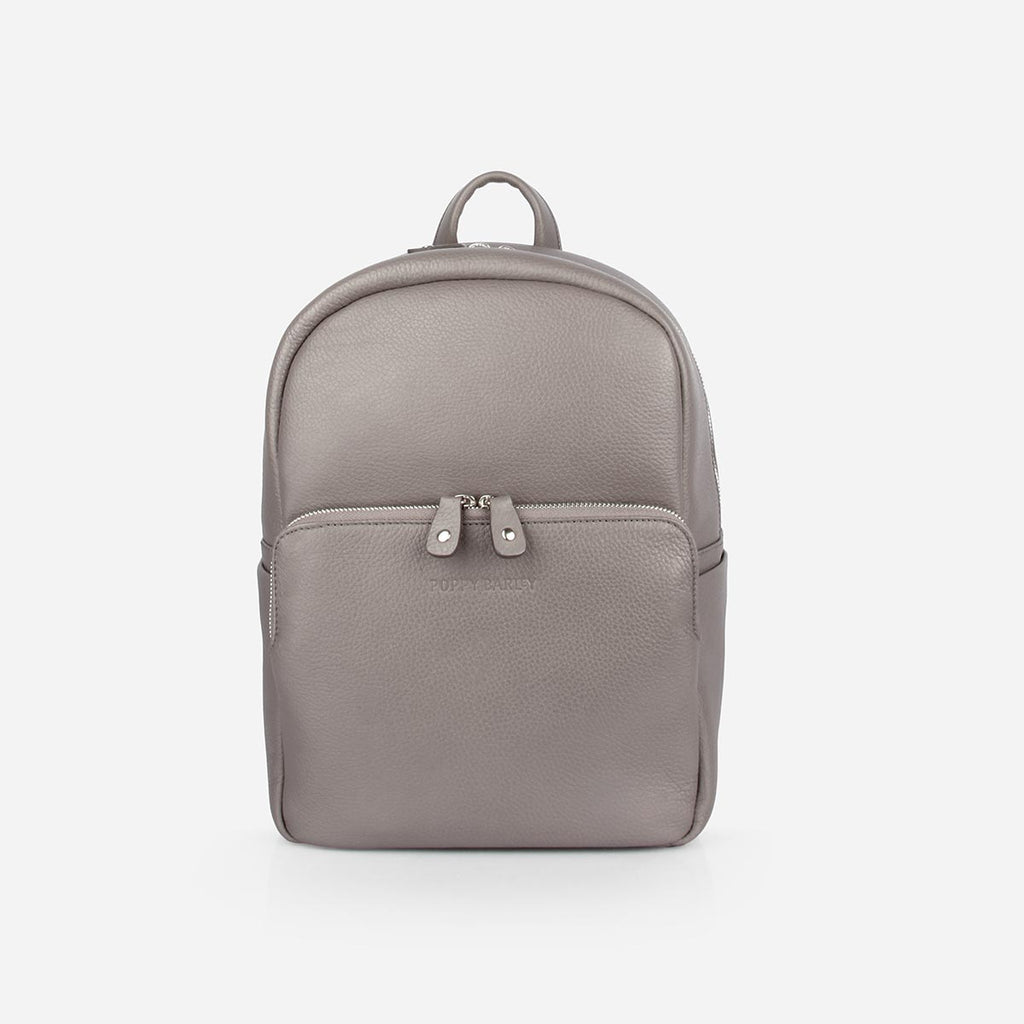 The Mini Backpack Slate Grey Pebble
