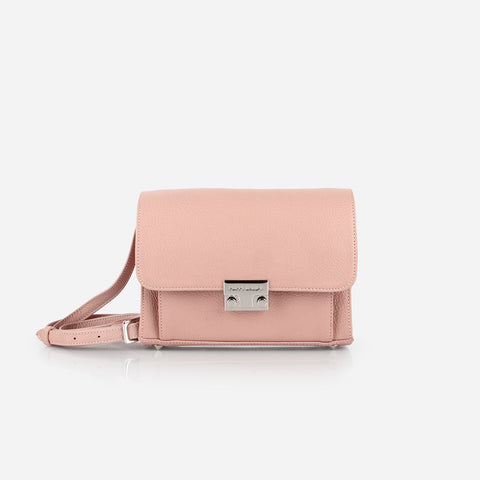 The Mini Shoulder Satchel Blush Poppy Barley