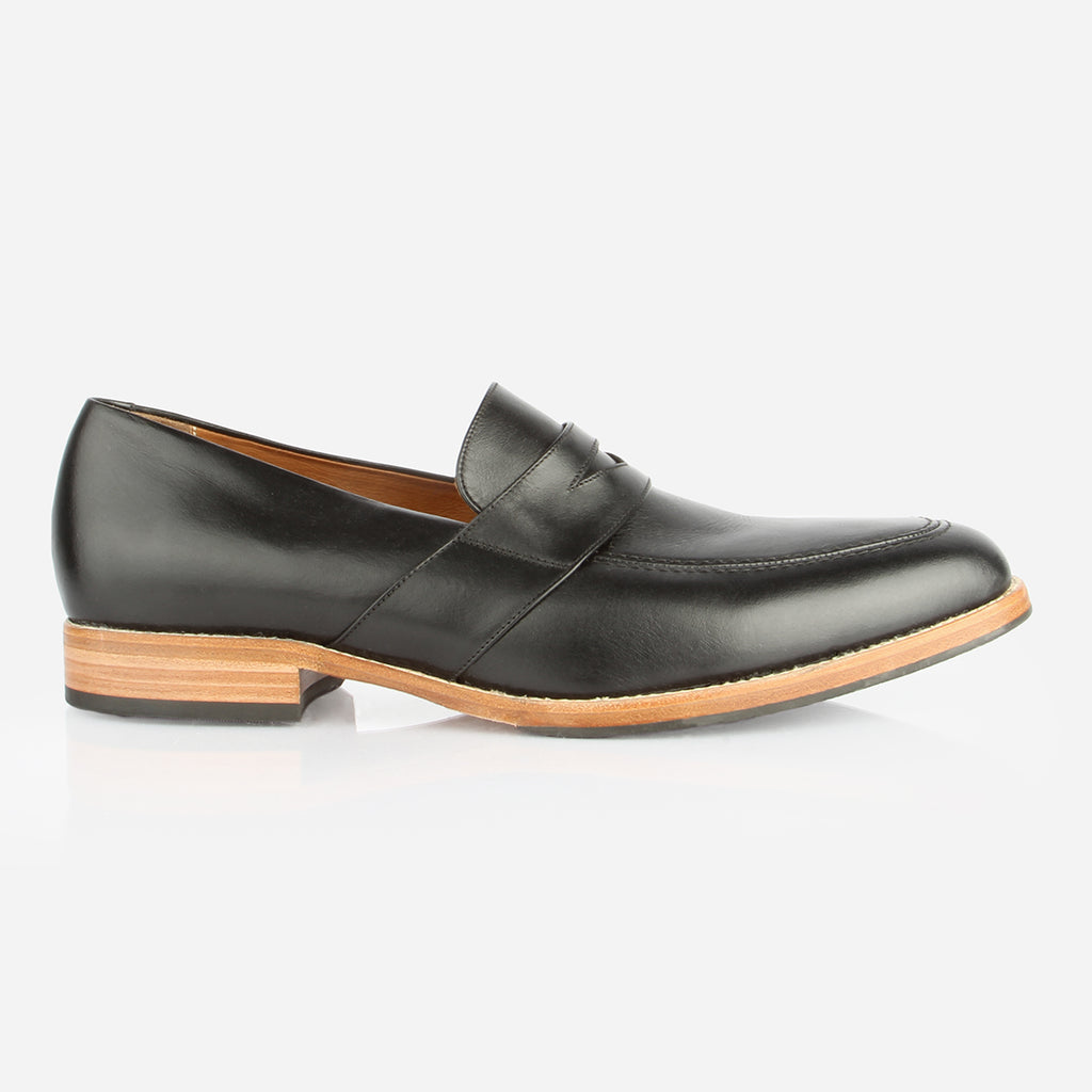 The Montreal Loafer Black Made To Order