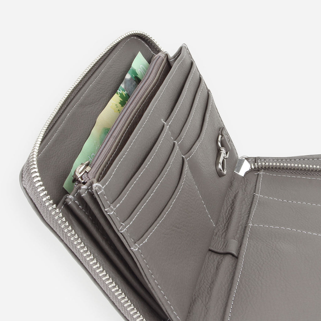The My Whole Life Wallet Smoke Grey