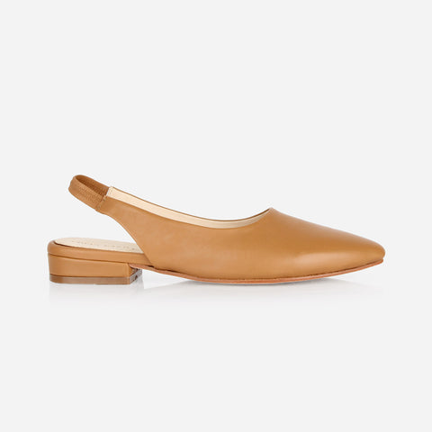 The On-The-Ball Slingback Caramel Ready To Wear