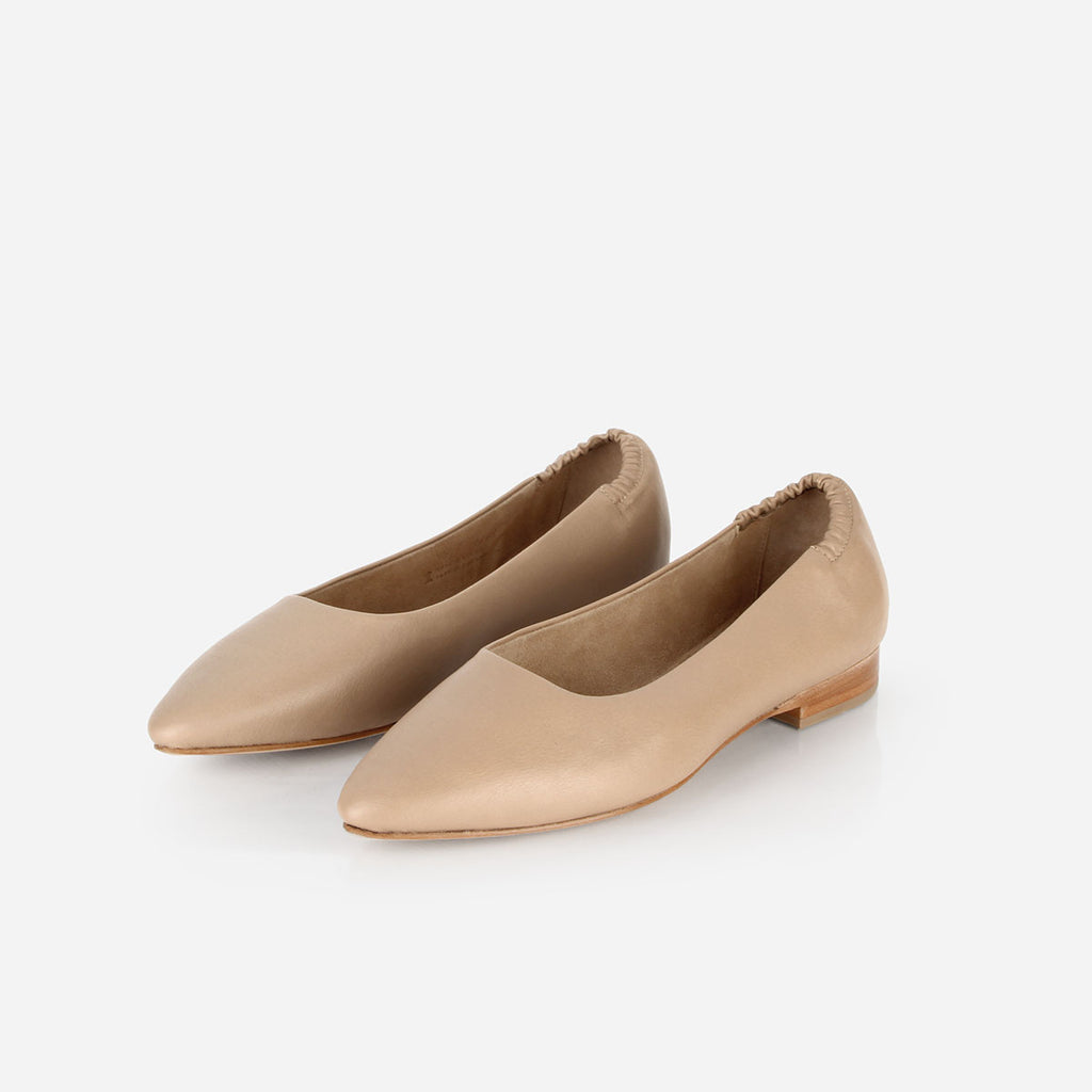 The On-the-Go Ballet Flat Biscotti Ready To Wear