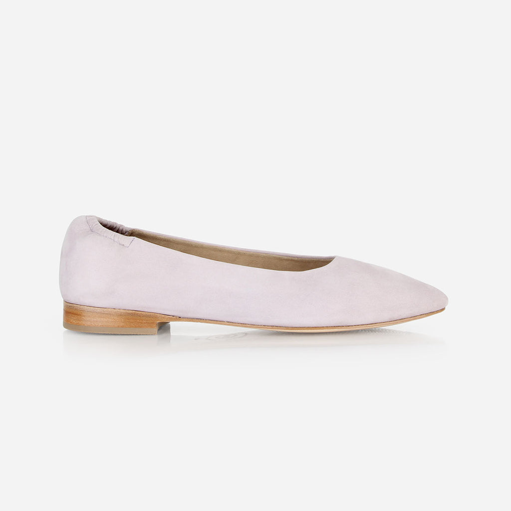 The On-the-Go Ballet Flat Lilac Nubuck Ready To Wear