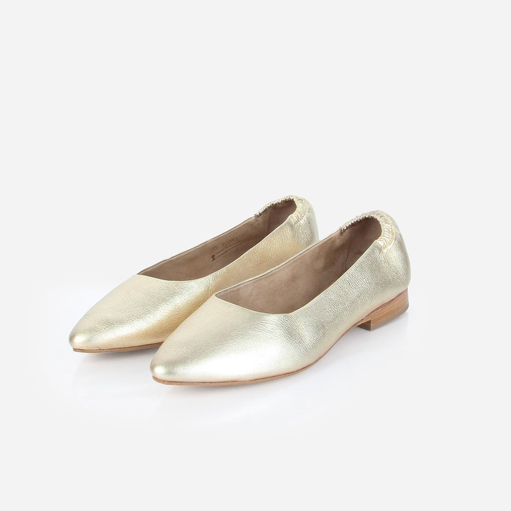 The On-The-Go Ballet Flat 24 Karat Ready To Wear
