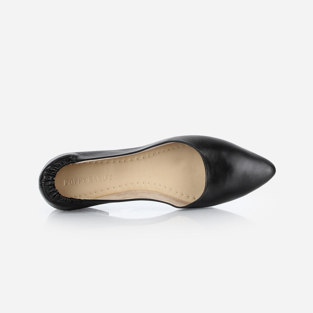 The On-The-Go Ballet Flat Black Ready To Wear