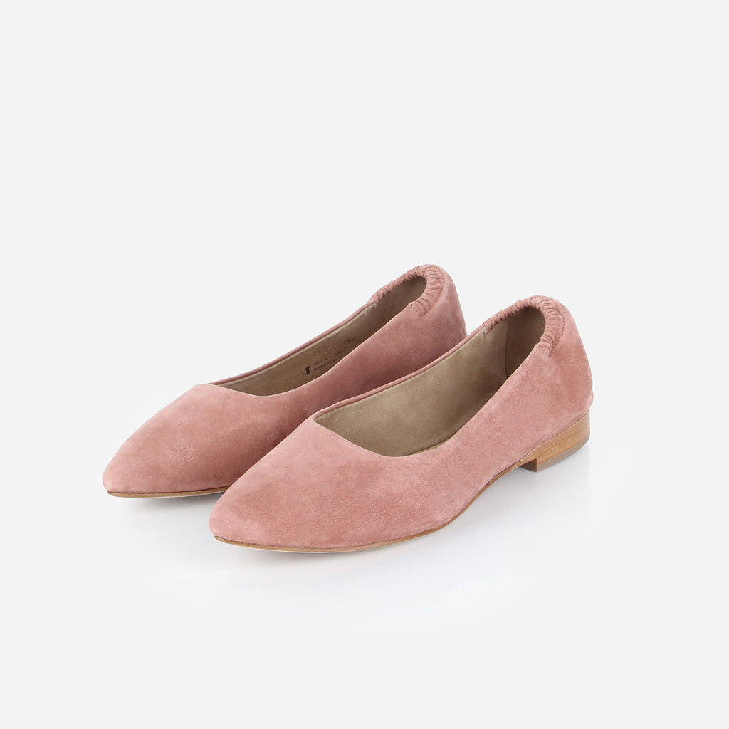 The On-The-Go Ballet Flat Dusty Rose Nubuck Ready To Wear