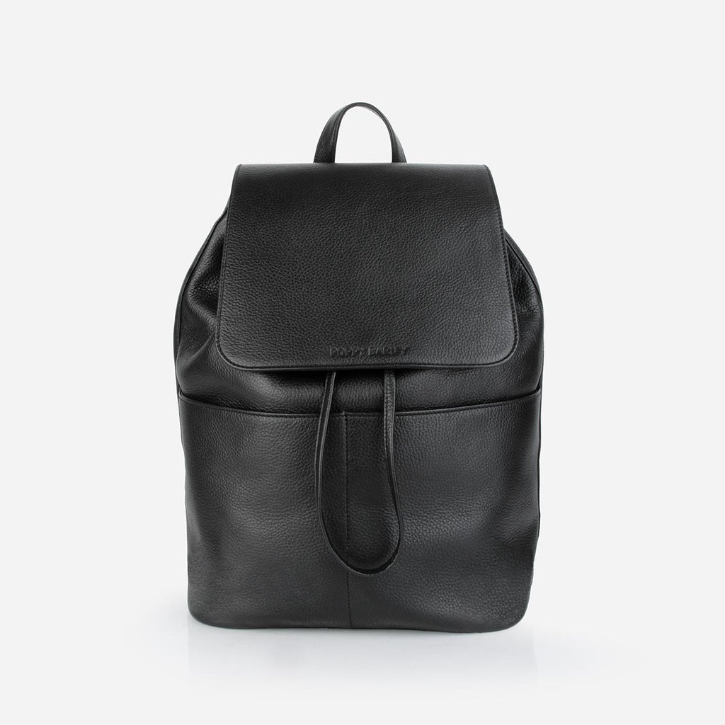 The Refined Backpack Black Pebble