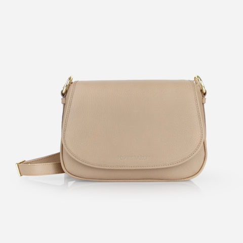 The Refined Saddle Bag Biscotti Pebble