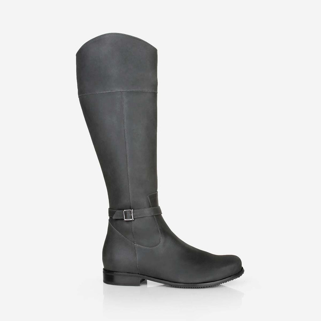 The Riversdale Boot Gotham Grey Made To Order