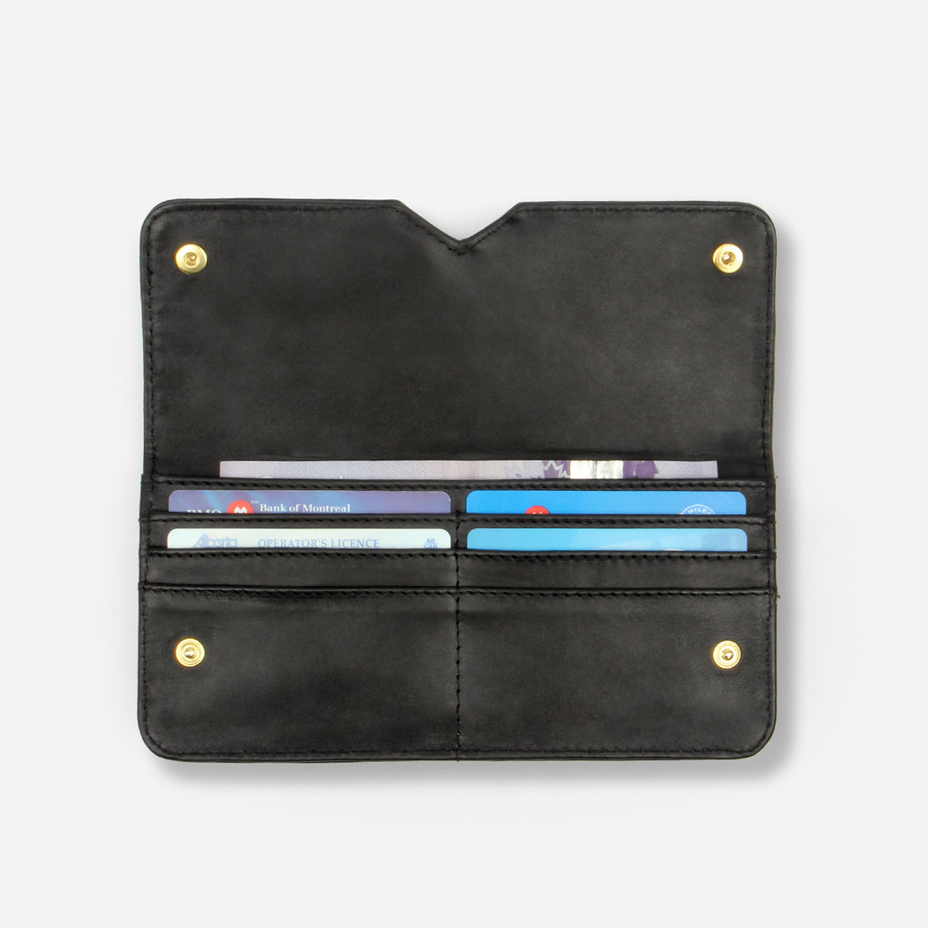 The Slim Wallet Black