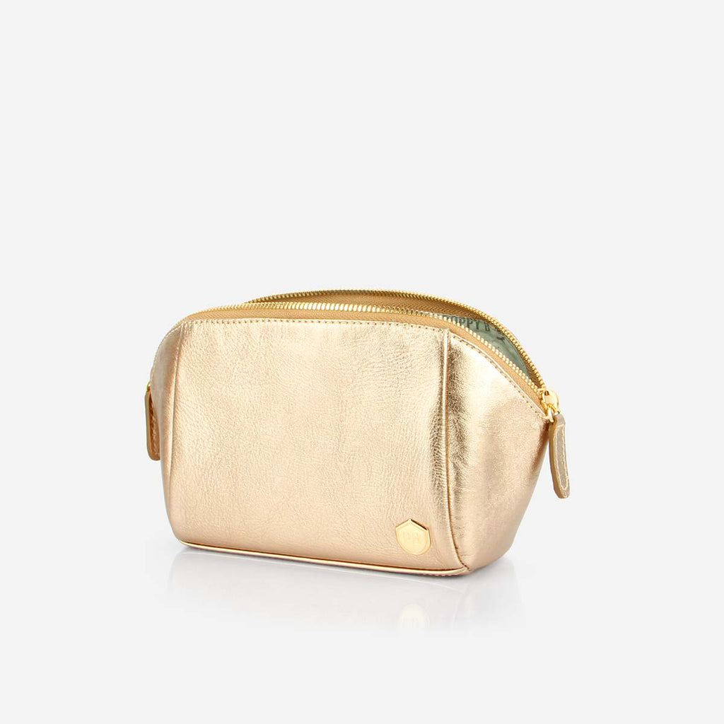The Small Cosmetic Case Champagne