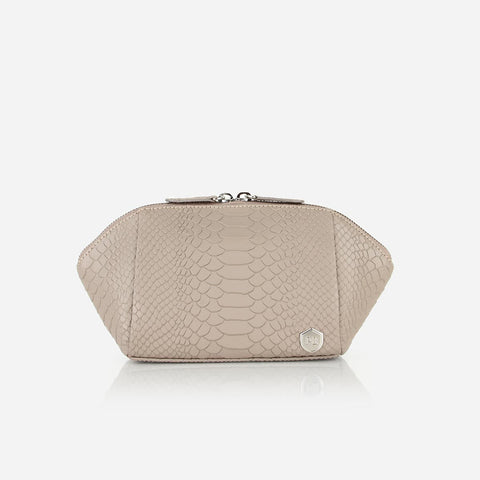 The Small Cosmetic Case Stone Python