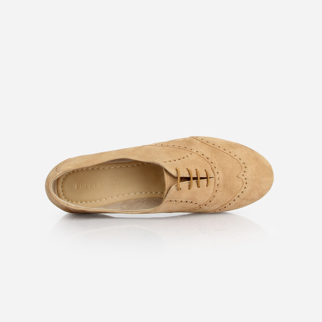 The Soft Oxford Sand Nubuck Ready to Wear