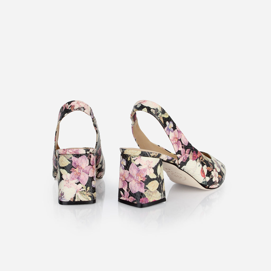 The Statement Slingback Midnight Bloom Ready To Wear